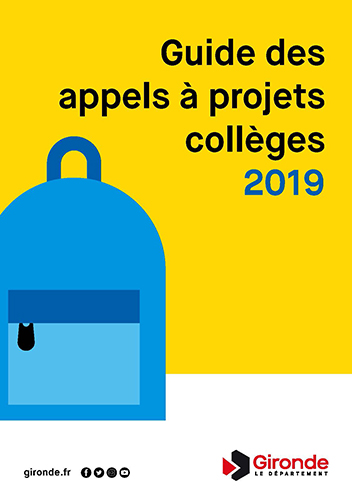 page garde appel projet colleges 2019 site